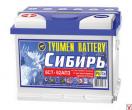 Аккумулятор Тюмень  6СТ - 62L СИБИРЬ