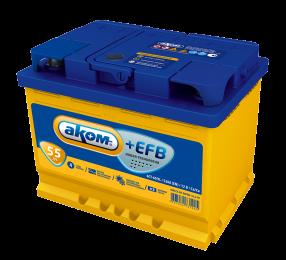 АКОМ  EFB 6СТ - 55 Евро