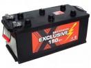 Аккумулятор EXCLUSIVE EURO 6СТ - 190 АПЗ крышка плоская о.п. конус